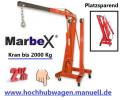 Kran 2000Kg, Werkstattkran, Schwenkkran