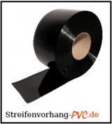 PVC Rollen Schwarz, Sichtschutzvorhang