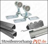 Schiebevorrichtung für PVC Flattervorhänge
