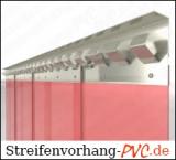 Roter Vorhang Schweisserschutz - Streifen 300x3 mm