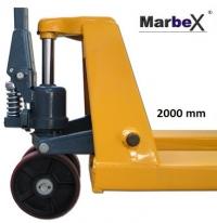 Handhubwagen 2000 mm lange Gabel ( Handstapler )