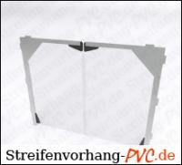 PVC - Platten für Pendeltür