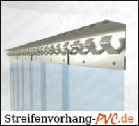 PVC Streifenvorhang 2,25m Breite x 3,25m Länge