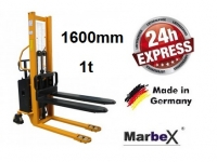 Hochhubwagen elektro 1,60 m / 1000Kg