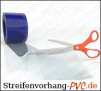 PVC Streifen 30cm x 3mm pro Meter