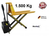 Scherenhubwagen 1500 kg Elektisch