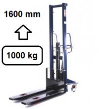 Hochhubwagen 1600mm, 1000Kg