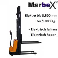 Hochhubwagen elektrisch 3500 mm