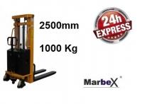 Hochhubwagen elektrisch 2500 mm