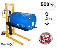 Fasshubwagen Fassheber 1200mm /  500Kg