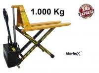 Scherenhubwagen 1000 kg / 1t Elektisch
