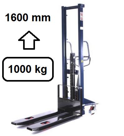 Hochhubwagen 1600 mm - 1000 Kg