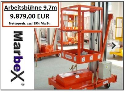 Marbex® Arbeitsbühne 9,7m Höhe